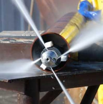 Прочистка канализации - давление 200 атмосфер