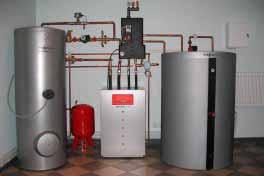 Установка отопления, монтаж автономных котельных