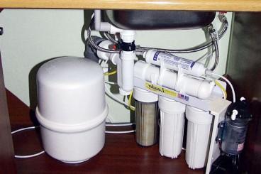 Установка стационарных питьевых фильтров