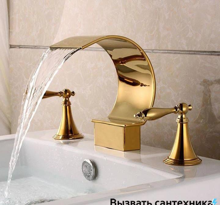 Замена крана в ванной