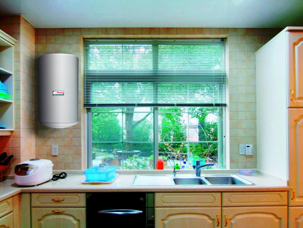Установка бойлер на кухне или в ванной